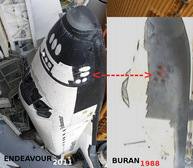 buran space shuttle compared to us - photo #11